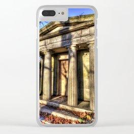 Kensal Green Mausoleum Clear iPhone Case