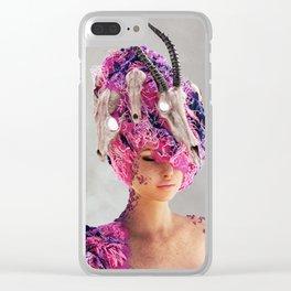 W Clear iPhone Case