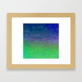 Blue Blizzard Framed Art Print