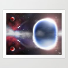 Unending Space Art Print