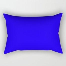 1200ff Blue Rectangular Pillow