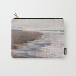 Ocean Beach, San Francisco Photography, From Above Art, Surfers, Pacific Ocean, California Art Carry-All Pouch