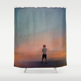 A world of illusions Shower Curtain