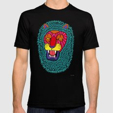 Magic Lion Mens Fitted Tee Black SMALL