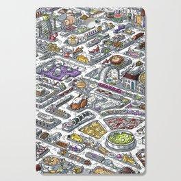 The Food Maze T-Shirt Cutting Board