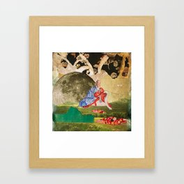 Peace by the Light of the Moon Framed Art Print