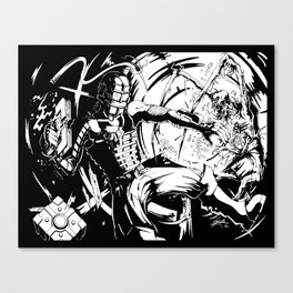 Zero Gravity Canvas Print