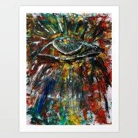Eye 1238am Art Print