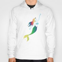 mermaids Hoodies featuring Mermaids by Los Espada Art
