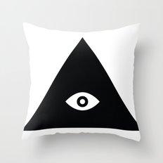 Tri-Eye Throw Pillow