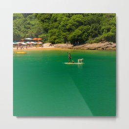Beach in Buzios, Rio de Janeiro (Brasil) Metal Print