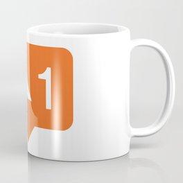 1 like airplanes! Coffee Mug