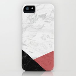 MARBLE INFERIOR iPhone Case