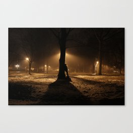 Foggy in My Mind Canvas Print