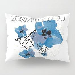 Chickadee-dee (white) Pillow Sham