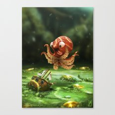 The Kraken! Canvas Print