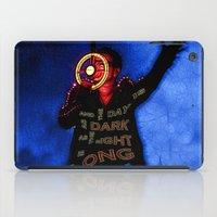 u2 iPad Cases featuring U2 / Bono / Baby Light My Way by JR van Kampen