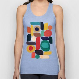 Miles and miles Unisex Tanktop