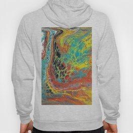 Abstract Rainbow  Hoody