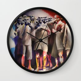 Immobilismo / immobility Wall Clock