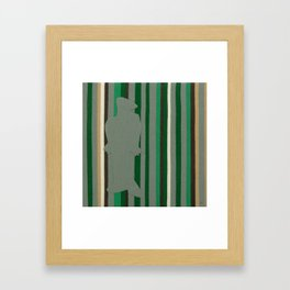 A Flood of Emotions: Contentment Framed Art Print