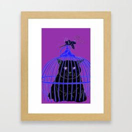 Look Who's Laughing Now Framed Art Print
