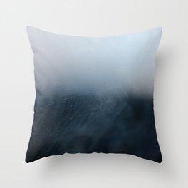 Foggy Horizon Throw Pillow