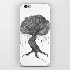 Girl In Tree iPhone & iPod Skin