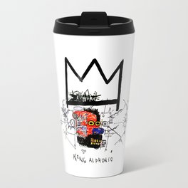 Jean-Michel Basquiat - King Alphonso 1983 Travel Mug
