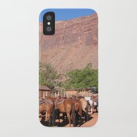 utah iPhone & iPod Cases featuring Horses Utah by BACK to THE ROOTS