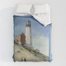 Cape Henlopen Light Comforters