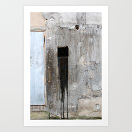 Chinese Dirty Square Art Print