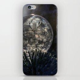 The spirit of winter iPhone Skin