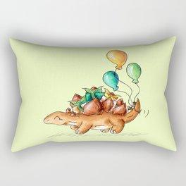Stegoparty Rectangular Pillow