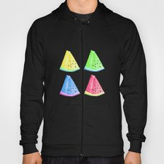 Watermelon Color Mix Hoody