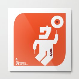 UNDO | Music to the people 06 Metal Print