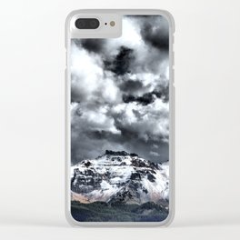 Clarity Under the Clouds Clear iPhone Case