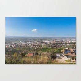 Chieti Scalo Canvas Print