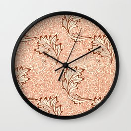 Apple pattern (1877) by William Morris Wall Clock