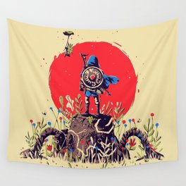 Zelda Breath of the Wild Art Japan Videogame Wall Tapestry
