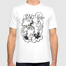 Doodle of the day 4 SMALL Mens Fitted Tee White