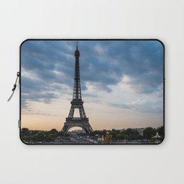 Eiffel Tower Paris Before the Storm Laptop Sleeve