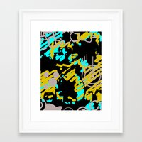 furry Framed Art Prints featuring Furry by Roberto Fabre