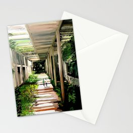 71 - IIMB green pergola's Stationery Cards