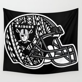 Poly Style Raiders Wall Tapestry