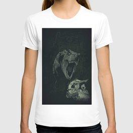 the lost world  by mateuscosme, JURASSIC WORLD MOVIE, dinosaur park T-shirt