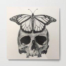 Die 2 Live - A Reminder 2 Love Life Metal Print