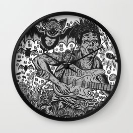 Thee Oh Sees John Dwyer Wall Clock