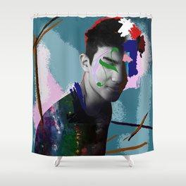 Graphic Designer Shower Curtain