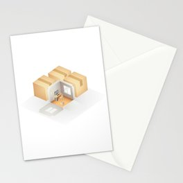 Home box /Marek/ Stationery Cards